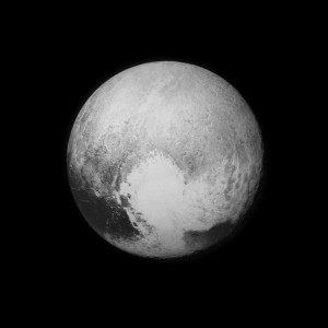 New Horizons image of Pluto from a couple of days before flyby (Image Credit: NASA)
