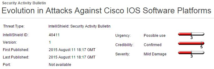 Cisco Security Alert