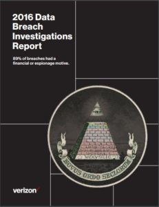 Verizon 2016 Data Breach Investigations Report